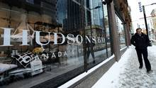 The downtown Toronto flagship Hudson's Bay Company store. (Nathan Denette/THE CANADIAN PRESS)