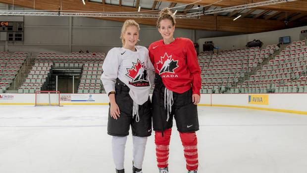 Potomak Sisters Herald A New Wave Of B.C. Talent For National Women's Hockey Team