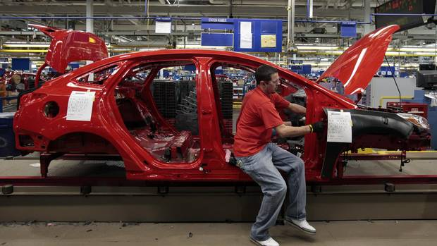 Ford laying off michigan workers due to slow sales of for Ford motor company wayne mi