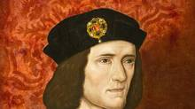 A painting of King Richard III by an unknown artist from the 16th Century is seen at the National Portrait Gallery in London in this file photograph dated August 24, 2012. (NEIL HALL/Reuters)