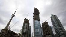 Condominiums in downtown Toronto are seen in this file photo. (Michelle Siu for The Globe and Mail)