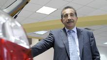Shahin Alizadeh, President of Toyota on Front , in his new car showroom on August 28, 2008. (Tibor Kolley/Tibor Kolley/The Globe and Mail)