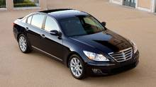 The Genesis was named the 2009 Canadian Car of The Year by the Automobile Journalists Association of Canada. (David Dewhurst)