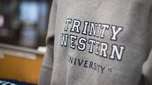 The dispute stems from Trinity Western University's so-called community covenant, which bans sexual intimacy outside of heterosexual marriage. (Ben Nelms For The Globe and Mail)