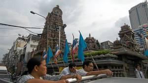 Bangkok's Sri Maha Mariamman Temple, the spiritual centre of the Tamil community.