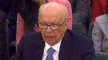 News Corp. chief Rupert Murdoch testifes in London, July 19, 2011. PARBUL/AFP/Getty Images) (PARBUL/AFP/Getty Images)