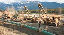 Canadian energy pipelines, like this one under construction by Kinder Morgan, are subject to extensive regulatory oversight to make them as safe as possible. (Supplied)