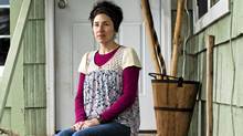 Lisa Cooper outside her home in Mount Vernon, Wash. (Rafal Gerszak for The Globe and Mail)