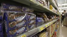 Oreo cookies are seen in this file photo. Cookie-maker Mondelez said Thursday it will close its Montreal facility by the end of next year. (Kin Cheung/The Associated Press)