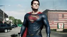 In Man of Steel, the latest Superman reboot, the film's creators ditched the superhero's iconic red briefs – a move that has split fans. (Clay Enos/Warner Bros. Pictures/AP)