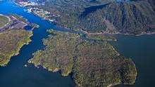 Pacific NorthWest LNG is proposing to build an LNG export terminal on Lelu Island. (lonniewishart.com/Pacific Northwest LNG)
