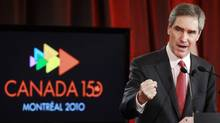 Liberal leader Michael Ignatieff gives his closing speech at the party's conference in Montreal called Canada 150: Rising to the Challenge (Christinne Muschi/Reuters)