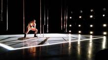 Geneviève Robitaille is seen in choreographer Lina Cruz's Tic-Tac Party. Cruz used the Centre de Création O Vertigo's space for two weeks to build a set for a new project.
