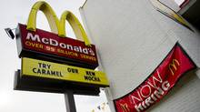 A McDonald's outlet in Washington, DC. (JIM WATSON/AFP/Getty Images)