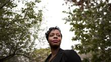 Angela Husbands credits the Woodgreen project for giving her and her 11-year old daughter a second chance after she fled an abusive relationship. (Moe Doiron/The Globe and Mail)
