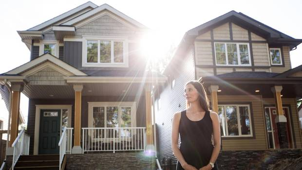 Infill Housing Brings Skinny Breed Of Housing To Edmonton
