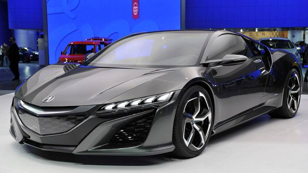 Acura NSX concept vehicle (JAMES FASSINGER/REUTERS)