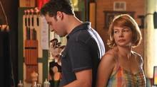 Seth Rogen and Michelle Williams in Take This Waltz, directed by Sarah Polley.