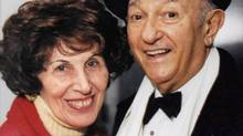 Anne and Ed Mirvish are shown in a handout photo dated circa 1999. (THE CANADIAN PRESS)