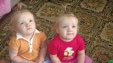 The parents of Athena and Lucie Martin argued that taking care of two babies requires more work than one.