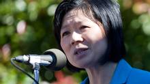 British Columbia Liberal cabinet Minister Ida Chong is the first MLA to be targeted for recall by the Fight HST group. (Geoff Howe For The Globe and Mail/Geoff Howe For The Globe and Mail)