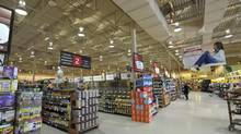 The Metro store at Lakeshore and Southdown Road store in Mississauga August 9, 2014. (J.P. MOCZULSKI For The Globe and Mail)