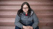 Fawn Lamouche, an aboriginal spokeswoman from Edmonton, is organizing a rally in protest of the verdict in Edmonton that found Bradley Barton not guilty of murdering Cindy Gladue in 2011. (For The Globe and Mail/Chris Bolin)