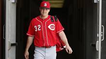 On Monday night, the Toronto Blue Jays agreed to a three-team exchange that would have netted them Cincinnati Reds outfielder Jay Bruce. (Ross D. Franklin/AP Photo)