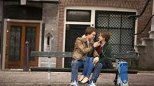 The city of Amsterdam isn't quite sure whether to blame fate or human error, but a bench upon which the star-crossed teenage lovers talk and kiss in the hit film The Fault in Our Stars is missing. (James Bridges/THE ASSOCIATED PRESS)