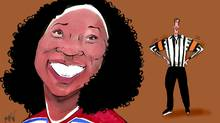Author Esi Edugyan on fighting in hockey (Anthony Jenkins/The Globe and Mail)