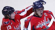 Washington Capitals GM George McPhee rebuilt his team into a Stanley Cup contender with six seperate deals beginning in 2004. (AP Photo/Luis M. Alvarez) (Luis Alvarez)