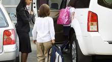 A survey found 58 per cent of parents walked to school when they were kids, while only 28 per cent of their own kids do the same. (Thinkstock)