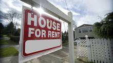 Average monthly rent for a condominium in the Greater Toronto Area rose an annualized 9 per cent in the third quarter. (Getty Images/iStockphoto)