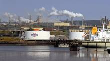 The pipeline could carry on as far as Saint John, home of a 300,000-barrel-a-day Irving Oil refinery. (Roger Hallett/The Globe and Mail)