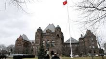 Queen's Park in Toronto. The Ontario government has introduced a surtax on high-income earners. (Deborah Baic/Deborah Baic/The Globe and Mail)