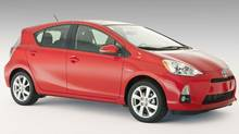 Toyota is billing the 2012 Prius c as the most fuel efficient car in Canada. (Bill Petro/Toyota)