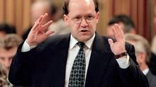 Andy Scott was named solicitor-general in 1997, a position he resigned from the next year after he was overheard talking about the possible outcome of the APEC inquiry. (TOM HANSON/THE CANADIAN PRESS)