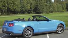 2011 Ford Mustang Convertible (Ted Laturnus for The Globe and Mail)