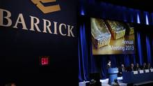As the most debt-heavy miner in the industry, Barrick has the most to lose as gold prices decline. It also has the most to gain. (Fernando Morales/The Globe and Mail)