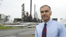 Mike Ashar, president of Irving Oil , is seen at the company's refinery facility in Saint John, NB on Oct. 13, 2011. Natural Resources Minister Joe Oliver says he has given tentative approval of one proposal to industry giant Irving Oil. (David Smith For The Globe and Mail)