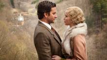 Bradley Cooper and Jennifer Lawrence once again share the screen in Serena, a retro-romantic period noir. (<137>Larry D. Horricks<137><137><252><137>)