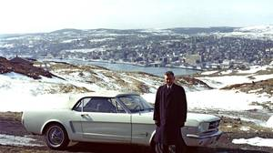 The very first Mustang to roll off the assembly line ended up in the hands of airline pilot Stanley Tucker of St. John's, Nfld.