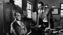 Ben Kingsley and Liam Neeson in Schindler's List.