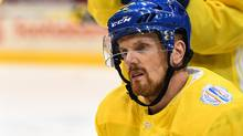 Daniel Sedin of Team Sweden looks on during practice at the World Cup of Hockey 2016 at Air Canada Centre on September 15, 2016 in Toronto, Ontario, Canada. (Minas Panagiotakis/Getty Images)