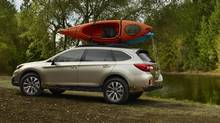 The 2015 Subaru Outback is great on or off-road. (hayama)