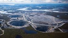 The Ekati diamond mine. (Handout)
