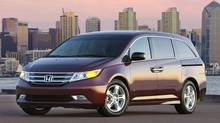 2013 Honda Odyssey Touring Elite (Honda)