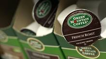 Green Mountain Coffee, the maker of single-serve K-Cups, said on Thursday it will hike coffee prices by up to 9 per cent in November, becoming the latest major drinks maker trying to cover soaring coffee costs. (BRENDAN MCDERMID/REUTERS)