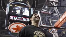 Toronto Raptors Global Brand Ambassador and rapper Drake (Chris Young/THE CANADIAN PRESS)