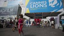 The Cannes Lions International Festival of Creativity, formerly the International Advertising Festival, attracts thousands of delegates working in the creative communications, advertising and related fields. (Simon Dawson/Bloomberg)